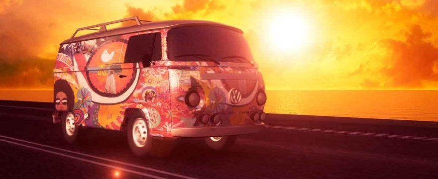 Hvad er n far-bil? En hippie folkevogn, måske?